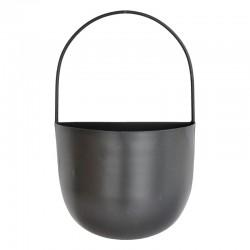 Metalliruukku kahvalla musta