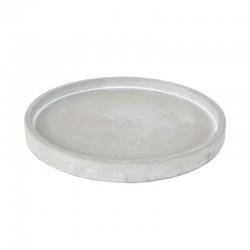 Sementtialusta pyöreä 18 cm