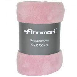 Torkkupeite fleece roosa