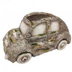 Autonmuotoinen kukkaruukku