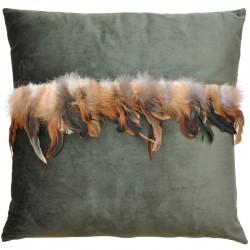 Sulka tyyny tummanvihreä