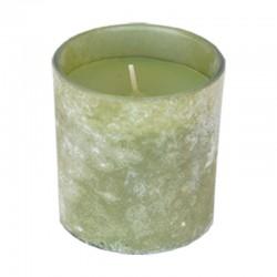 Huurrelasi kynttilä vihreä