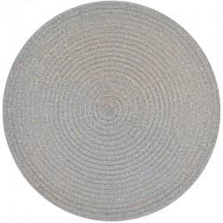 Pyöreä tabletti hopea