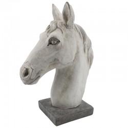 Hevosen pää patsas