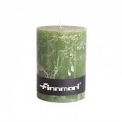Pöytäkynttilä 7 x 10 cm oliivi