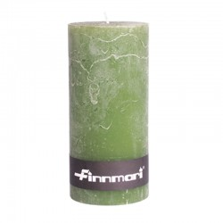 Pöytäkynttilä 7 x 15 cm oliivi