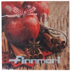 Ruokaservetti kaneli/omena
