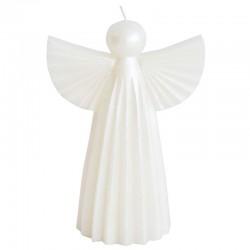 Enkeli kynttilä valkoinen