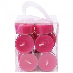Lämpökynttilä 20-pack roosa