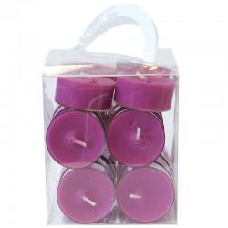 Lämpökynttilä 20-pack violetti