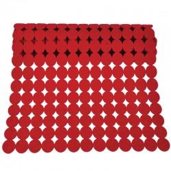 Huopakaitaliina pallo punainen