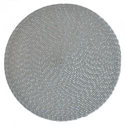 Pyöreä tabletti harmaa/hopea