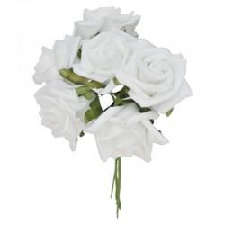 Ruusukimppu valkoinen